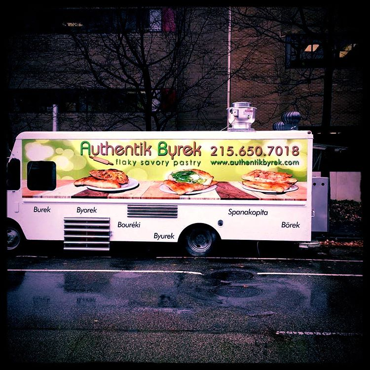 Authentik Byrek truck photo
