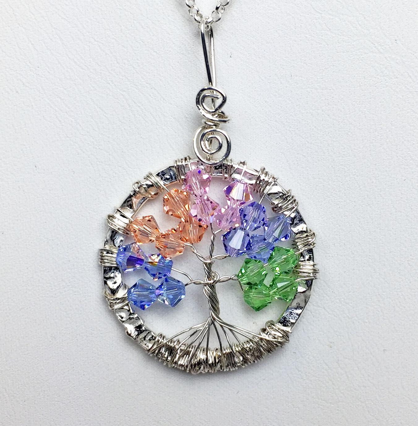 Beaddazzling- Tree of Life Swarovski Crystals